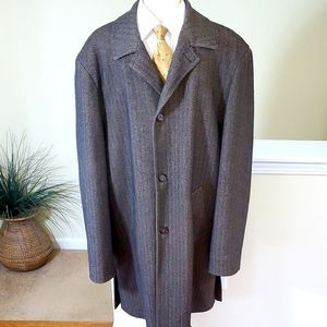 Italy-Battaglia Men's Overcoat